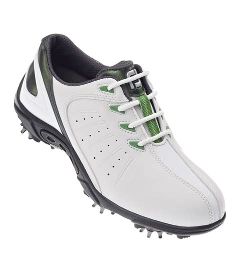 junior golf shoes footjoy junior golf shoes white green 2014 golfonline