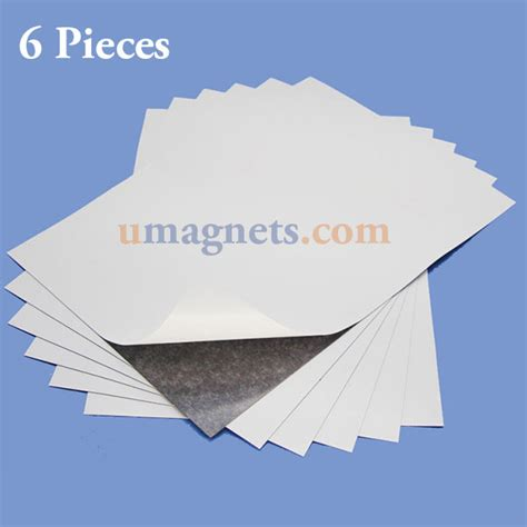 a4 magnetic sheet with 3m self adhesive 297 x