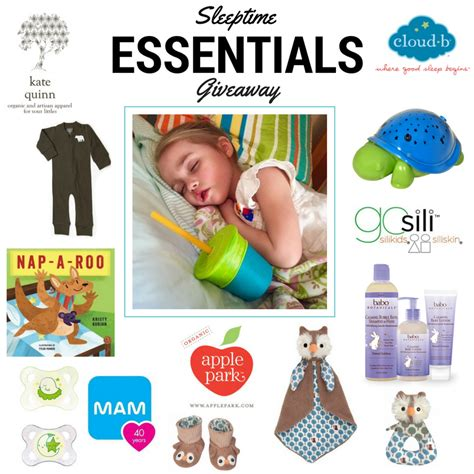 sleeptime books sleepy time essentials giveaway on instagram kpo