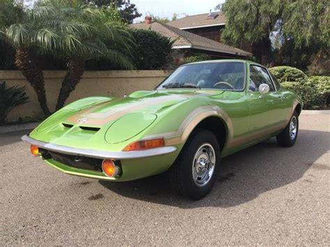 1973 opel gt jade green gold 1973 opel gt bring a trailer