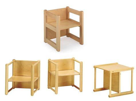 sedie bambini legno sedia multiuso in legno di faggio per bambini idfdesign
