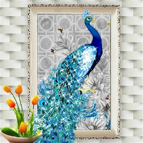 Painting Cross Stitch Ter Murah 19 5d embroidery paintings rhinestone pasted diy painting cross stitch animal