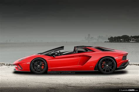lamborghini aventador s roadster back the s is back at lamborghini 2017 aventador s roadster 4 hr image at lambocars com
