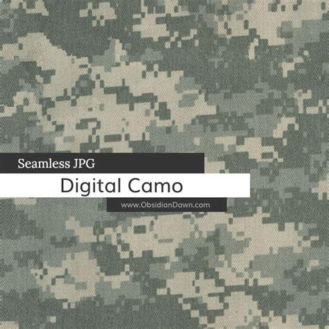 brush pattern camo seamless digital camo stock image obsidian dawn
