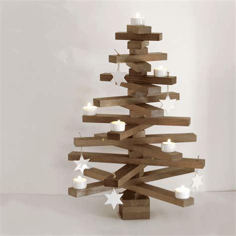 raumgestalt baumsatz aus eiche weihnachtsbaum aus holz