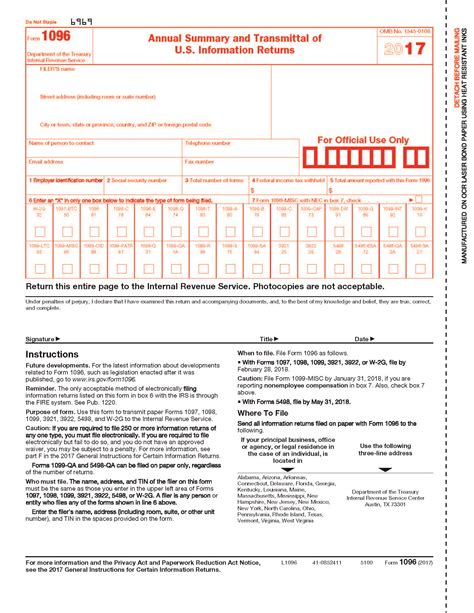 form 1096 and 1099 choice image form exle ideas
