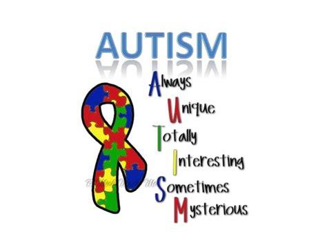 Autism Presentation Autism Powerpoint Template Free