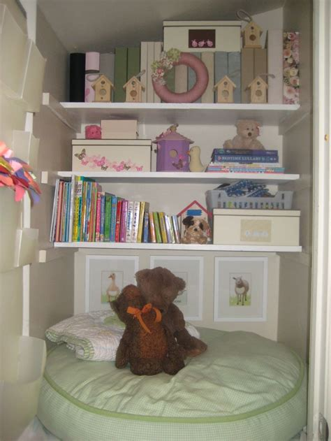 Closet Reading Nook by Closet Reading Nook For The Home