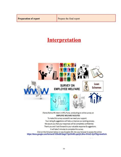 report on employee welfare kpcl