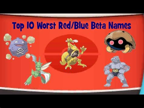 10 Best Images About Beta top 10 worst blue beta names