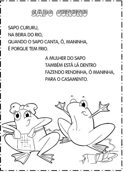 Pin de Maragrete em prof carol | Musicas infantil, Letras