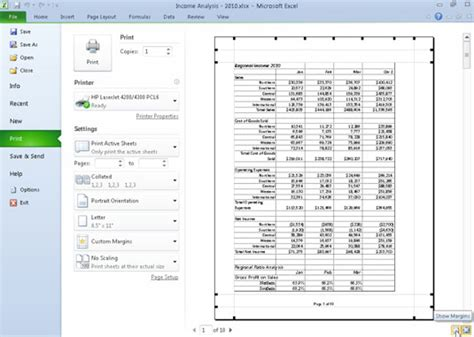shrink to printable area excel margins do not fit page size error in excel 2007 change