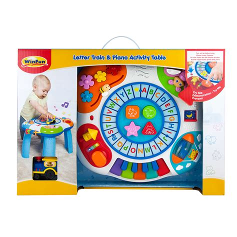 Winfun Letter And Piano Activity Table letter piano activity table winfun toys winfun