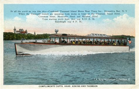 sam s boat thousand island history of uncle sam boat tours part 1 early years