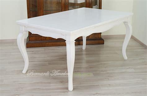 tavolo bianco tavoli allungabili laccati colorati tavoli