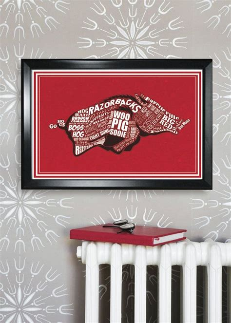 arkansas razorback home decor 1000 images about arkansas razorback stuff on pinterest