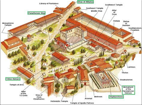Roman House Floor Plan by Stroll Around The Picturesque Monastiraki And Plaka