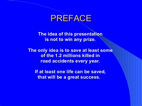Mba Presentation Topics Pdf by Road Prevention Powerpoint Presentation With Photos