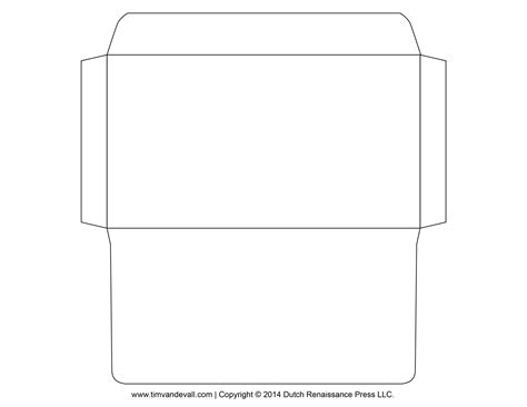 envelope template 3 templates envelopes