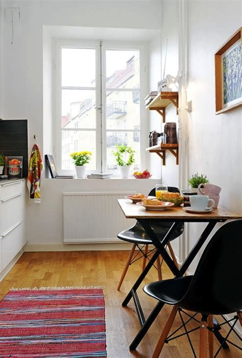 Kitchen Table Small Space Breakfast Table Ideas For Small Spaces