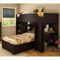 L Shaped Bunk Bed With Desk L Shaped Loft Bunk Beds Foter