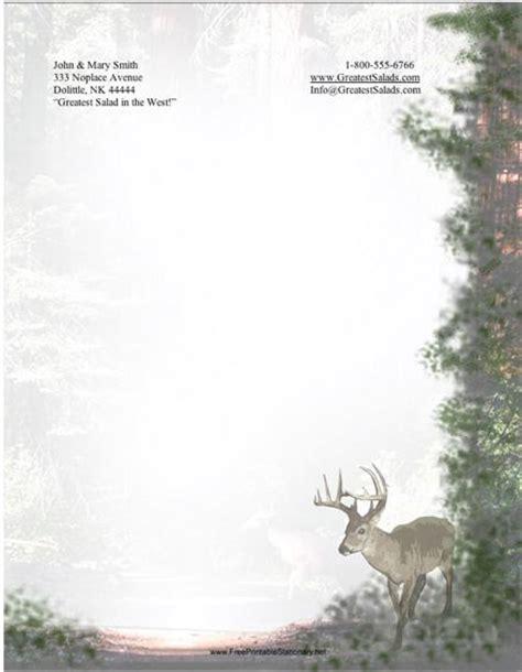 free printable hunting stationary hunting stationary border bing images