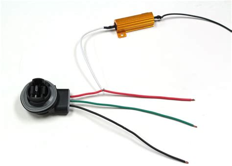 led resistor how to install 50w 6 ohm load resistor for led turn signal lights ijdmtoy