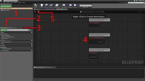 blueprint editor engine 4 tutorial for beginners