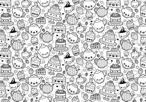 coloring book free vector tea coloring page free vector stock
