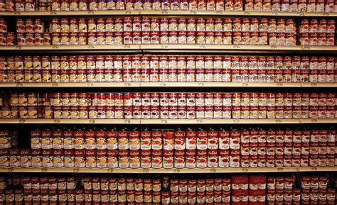 Shelf Of Soup by Appealing To Rational And Emotional Customer Thinking 2016 09 09 Brand Packaging