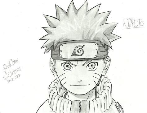 drawn naruto pencil   color drawn naruto