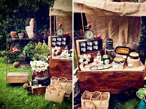 Market Days by Leo & Bella Pop Up Market Stall, a Rustic
