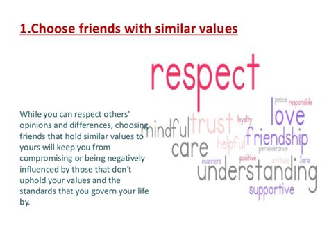 how to choose a how to choose the right friends