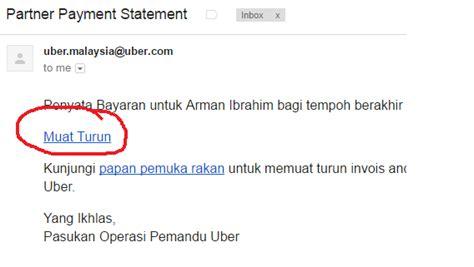 email format uber cara download save payment statement uber format pdf untuk