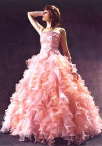 The pink adds a little something something prom dress maybe