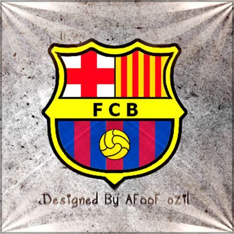 wallpaper lambang barcelona fc barcelona logo by af00fozil on deviantart