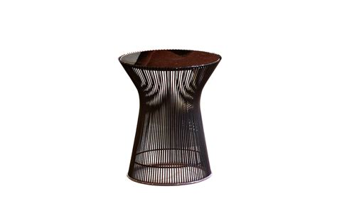 platner bronze side table hivemodern
