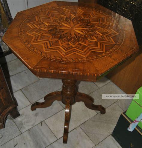 Intarsien Tisch by Biedermeier Intarsien Tisch Um 1830 40 Seltene