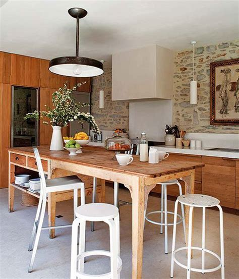 rustic and modern kitchen rustic yet modern kitchen designs house design and decor