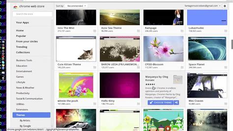 google themes that change how to change your google chrome background youtube