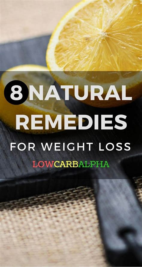 8 easy home remedies for weight loss obesity