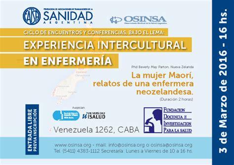 sueldo 2016 de una enfermera en argentina enfermera experiencia intercultural de enfermeria osinsa