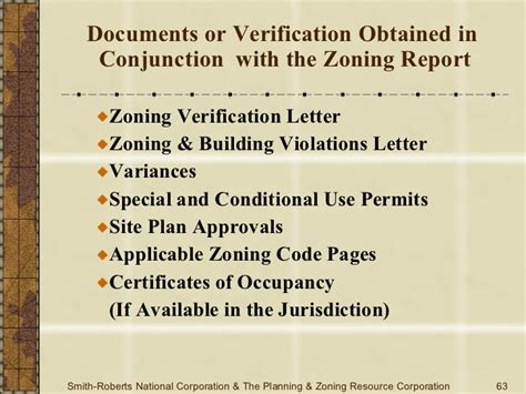 Zoning Verification Letter Joint Alta Acsm Zoning Due Diligence
