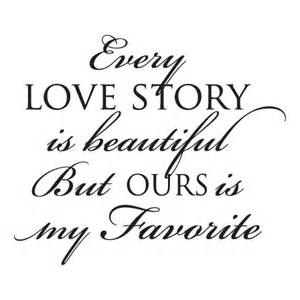 Wall Decals Bedroom Master Every Love Story Wall Quotes Decal Wallquotes Com