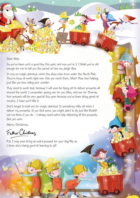 charity santa letter 33 best images about nspcc letter from santa on