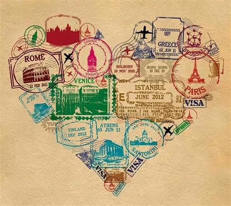 passport st tattoo amo viajar vintage wanderlust and
