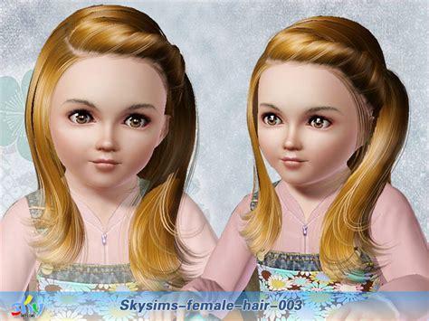 skysims hair toddler 209 i the sims 3 pinterest sims skysims hair 003 toddler