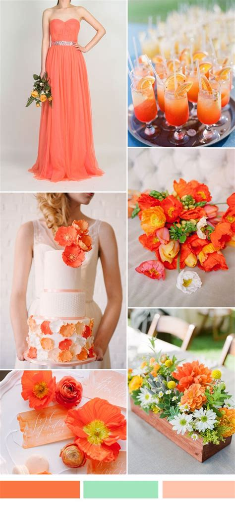 24 best outrageous orange weddings images on orange weddings wedding inspiration