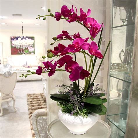 Flower Overall Inner One Set aliexpress buy high artificial flower phalaenopsis set overall floral artificial flower