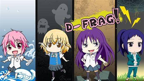 Anime D Frag by The Gallery For Gt D Frag Characters